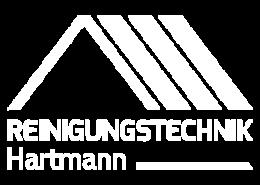 Reinigungstechnik Hartmann Logo weiß